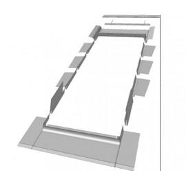 RACCORD TUILE PLAT EGV-F 66x118
